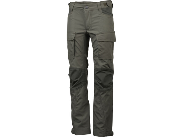 Lundhags Authentic II Pantalones Niños, forest green/dark forest